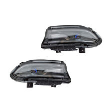 NEW RIGHT AND LEFT HEAD LIGHT FITS DODGE CHARGER SE 3.6L 2015-2016 68214397AB