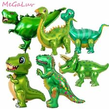 Dinosaur Foil Balloon Jungle Animal Children Boys Birthday Party Decoration New