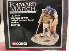 CORGI  FORWARD MARCH - CIVILIANS AT WAR - CC59182 UNITED NATIONS RELIEF WORKER