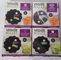 NEW Veggie Bullet Blade Lot Ribbon, Udon Ribbon, Steak Fry, & Angel Hair Blades