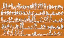 Preiser 16357 Leisure Am See 120 Unpainted Figures H0