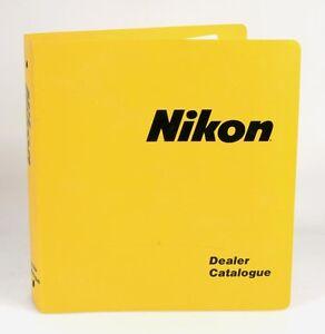 NIKON DEALER CATALOGUE FOR SLR CAMERAS