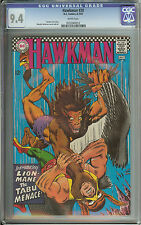 HAWKMAN #20 CGC 9.4 WHITE PAGES  // MURPHY ANDERSON COVER & ART