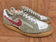 VTG🔥 Nike Athletic Sneakers 1980 80's Racer Trainers  Vintage Aged Sz 10.5 Men