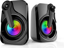 Soudbar, Maboo Usb Powered Sound Bar Speakers For Computer Desktop Laptop Pc, Bl