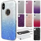 For Apple iPhone XR SHINE Hybrid Hard Protector Case Rubber Cover + Screen Guard