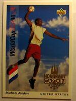 1993 Upper Deck Soccer Honorary Captain Michael Jordan #HC3, Rare MJ Insert!