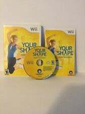 Your Shape: Featuring Jenny McCarthy - Wii - Complete - Manual - Fast Shipping!