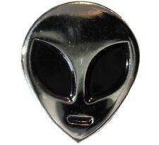 Alien UFO Flying Saucer Alien Space Ship Sci Fi Metal Enamel Badge 20mm X Files