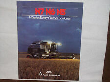 1980 Allis-Chalmers N7 N6 N5 Gleaner Combine Brochure Unused NOS