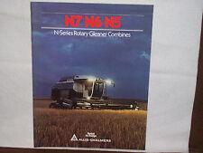 1980 Allis-Chalmers N7 N6 N5 Gleaner Combine Brochure Unused NOS
