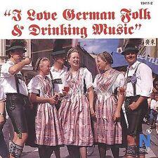 I Love Series : I Love German Folk & Drinking Music CD