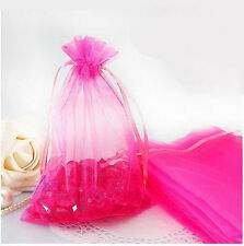 Vogue 100Pcs Organza 14 Colors Wedding Party Candy Gift Packing Favor Bag DIY