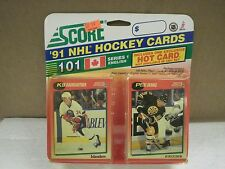 OLDER HOCKEY CARDS 1991- CANADIAN ENGLISH SERIES 1- KEN BAUMGARTNER- NEW- L136
