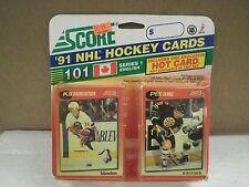 OLDER HOCKEY CARDS 1991- CANADIAN ENGLISH SERIES 1- KEN BAUMGARTNER- NEW- L136