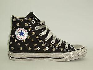 Scarpe da ginnastica nere Converse per donna borchiato | Acquisti ...