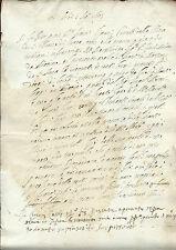 Manoscritto Pagamento Legato Testamentario Chiesa S. Tolomeo Lucca 1603