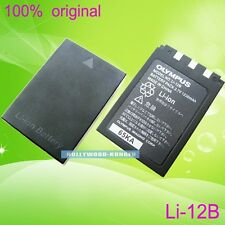 Genuine Original Olympus Li-12B Li-10B Battery for Li-12C/10C C-50 C60 410 X-500