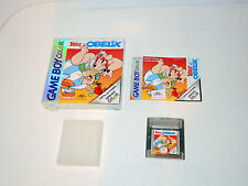 ASTERIX & OBELIX complete in box + manual Gameboy Color nintendo videogame