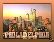 PHILADELPHIA skyline - Travel Souvenir Fridge Magnet