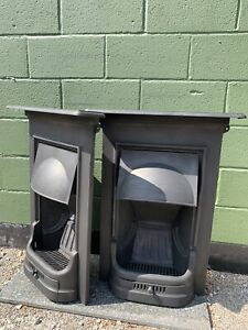 Original Pair  Complete cast iron fireplacesRestored   For Fitting £550 Pair