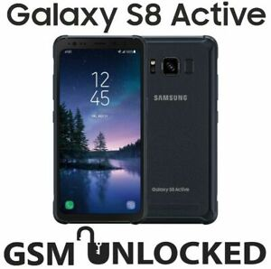 New Samsung Galaxy S8 Active SM-G892A,64GB-Meteor Gray (GSM Unlocked) Excellent