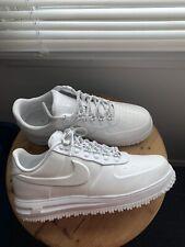Nike Aa1124-100 Lunar Force 1 Duckboot Low sz 10.5 Men triple White