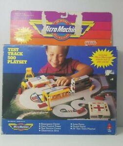 Micro Machines Test Track 500 Playset Micromachines 1989 RARE