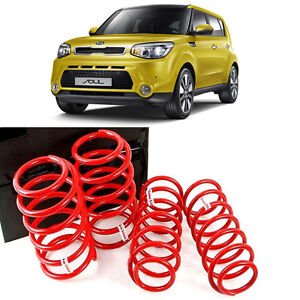 Lowering Storm Down Spring Gasoline type for 2014 2018 Kia Soul