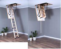 Bodentreppe Handlauf + Füße Speichertreppe Viele Größe EXTRA TERMO