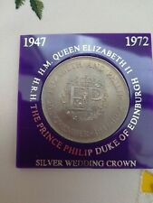 Queen Elizabeth II And Prince Phillip (EP) 25th Anniversary Crown 1947-1972