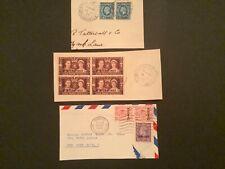 British Africa Morocco Agencies postmarks Casablanca Rabat Tangier three pieces