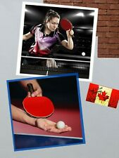 Professional Table Tennis Paddle Racket with Carrying Case For Tournament Play