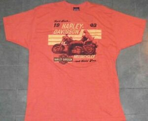 BLOOMINGTON IN Indiana Harley-Davidson HD dealer LAID BACK motorcycle shirt 2XL