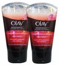 2 x OLAY 125mL REGENERIST REVIATLISING THERMAN MINI-PEEL TREATMENT Brand New