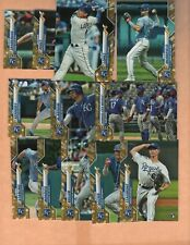 2020 Topps Baseball - Gold Stars Variation - Kansas City Royals - Team Set (21)