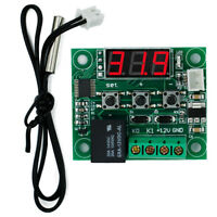 DC 12V Digital Display Thermostat Temperature Controller Switch Sensor Module