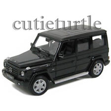 Welly Mercedes Benz G Class Wagon SUV 1:24 Diecast Model Toy Car 24012 Black