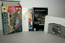 KNIFE EDGE NOSEGUNNER KEMCO GIOCO USATO NINTENDO 64 N64 ED USA NTSC/U DM1 40102
