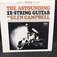The Astounding 12 String Guitar Of Glenn Campbell Album Vinyl Record LP G7