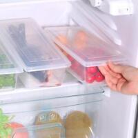 L/P:Klar Kühlschrank Lebensmittel Aufbewahrungsbehälter Fleisch Frucht Box