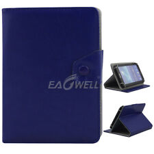 """For Various 9.7"""" 10"""" 10.1"""" inch Tab Unviersal PU Leather Stand Folio Case Cover"""