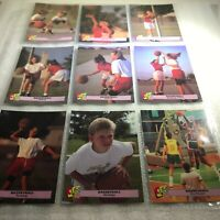 Kids Club Basketball Tips Trading Cards Set of Nine 1992 Miscellaneous Lot