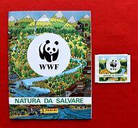 """""""WWF"""" NATURA DA SALVARE  ALBUM FIGURINE PANINI VUOTO + BUSTINA"""