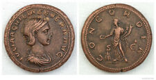 Roman Æ Sestertius of Julia Aquilia Severa (wife of Elagabalus)