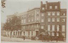 London Real Photo. Cheyne Walk, Chelsea. Laundry Cart - Rogers & Cook. c 1906