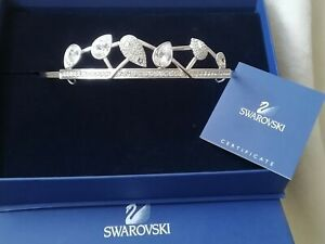 Genuine Swarovski Crystal Tiara with Original Box Wedding, prom, party.