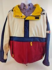 Vintage Tommy Hilfiger Windbreaker Sailing Jacket Size XXL Half Zip Color Block