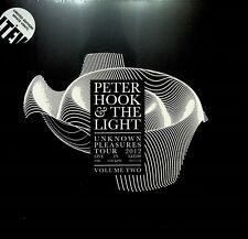 PETER HOOK LIVE Unknown Pleasures 2012 LP SEALED Vinyl NEW ORDER/JOY DIVISION v2