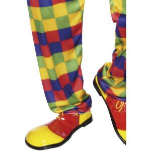 Clown Schuhe rot-gelb Clownsschuhe Clownschuhe Riesenschuhe Narrenschuhe Schuh
